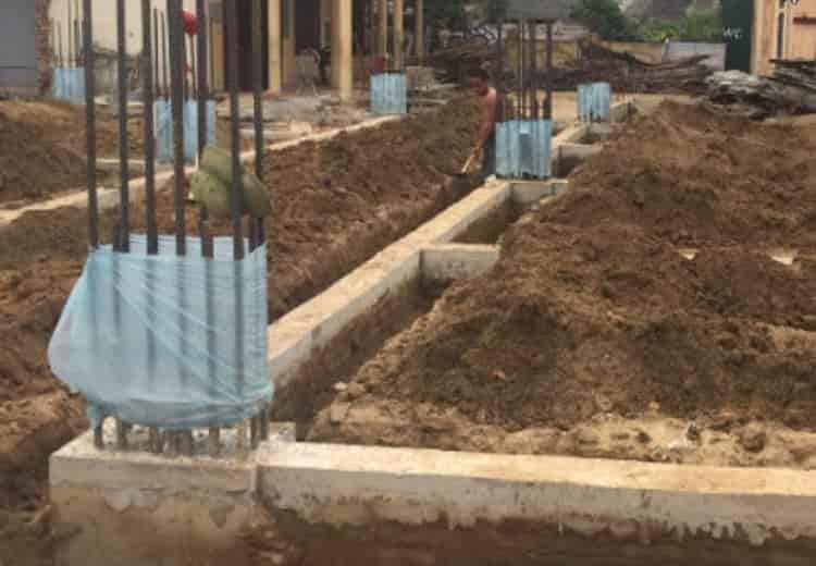 Phòng chống mối nền móng cho công trình trước xây dựng - diệt mối nha trang