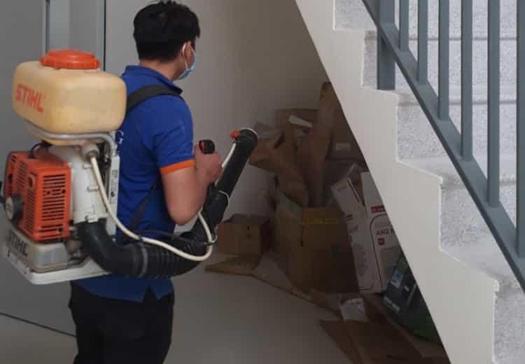 Phun phòng mối công trình sau xây dựng -diệt mối Nha Trang