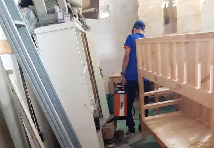 Diệt mối tận gốc xưởng gỗ Vĩnh Thái Nha Trang - diệt mối Nha Trang